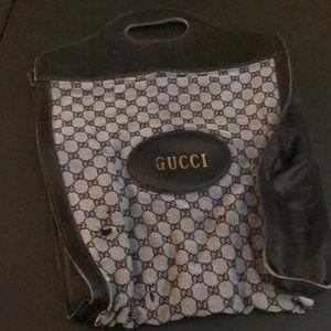 💙 Vintage Lovers 💙 Gucci Tote 💎super Rare 💎